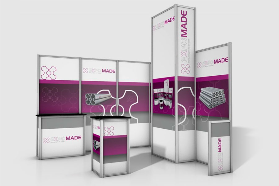 Messestand Expomade