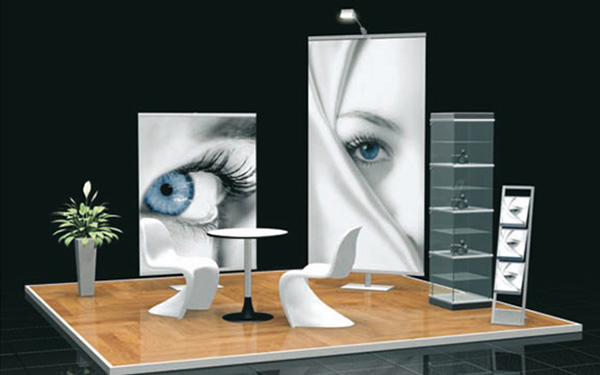 Messestand Octapole